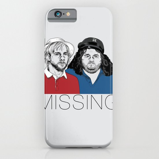 Missing iPhone & iPod Case