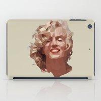 marilyn iPad Cases featuring marilyn by gazonula