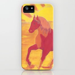 The Red Kelpie iPhone Case