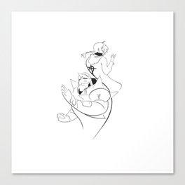 Minimalist Full Metal Alchemist Canvas Print