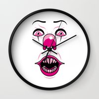 pennywise Wall Clocks featuring Pennywise by LuisD