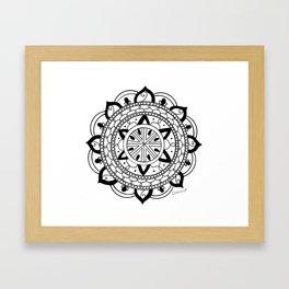 Mandala #3 Framed Art Print