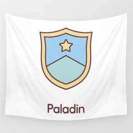 Cute Dungeons and Dragons Paladin class Wall Tapestry
