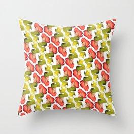 Mermaid Summer Pattern Throw Pillow