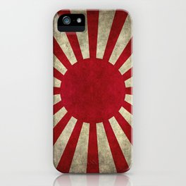 The imperial Japanese Army Ensign Flag iPhone Case