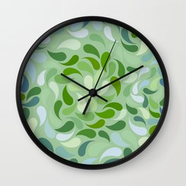 Petal Burst #31 Wall Clock