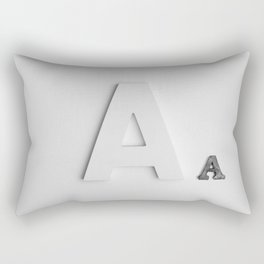 Letter A Rectangular Pillow