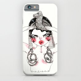 Ode To Theda iPhone Case
