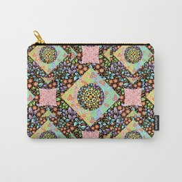 Boho Chic Patchwork Carry-All Pouch