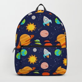 Planet Party Backpack