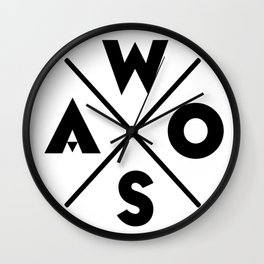 WOSA - World of Street Art Wall Clock