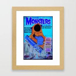 Urbnpop Famous Monsters Framed Art Print
