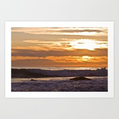 El Matador Sunset, 2011 Art Print