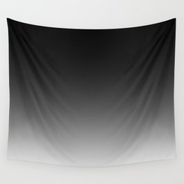 Black to White Wall Tapestry