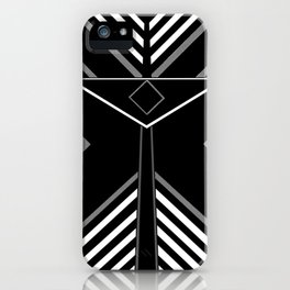 Nyyabinghi Space Warrior iPhone Case