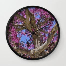 Love tree. Spring at the Alhambra Wall Clock
