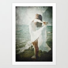 She was made of the Sea Art Print