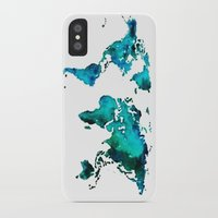maps iPhone & iPod Cases featuring maps by StraySheep