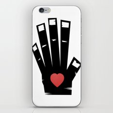 Left Hand iPhone & iPod Skin