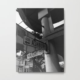 Haight-Ashbury Metal Print