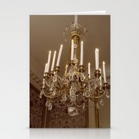 chandelier Stationery Cards featuring Chandelier by Pati Designs