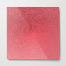 Wild Watermelon Metal Print