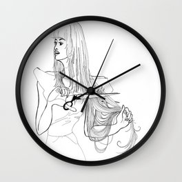 FASHION Deep Cuts Wall Clock