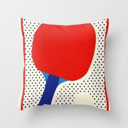 Ping Pong Dots Throw Pillow