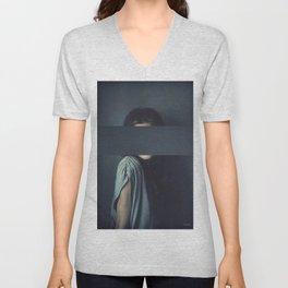 Mystery Girl Unisex V-Neck