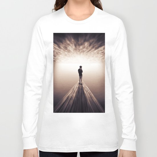 The Sky is getting closer Long Sleeve T-shirt