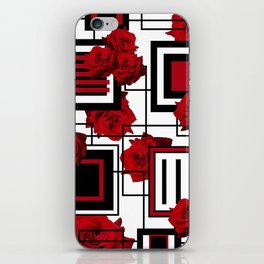 Behind the Rosey Bars iPhone Skin
