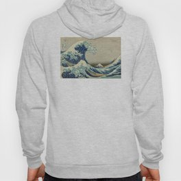 Great Wave Off Kanagawa (Kanagawa oki nami-ura or 神奈川沖浪裏) Hoody