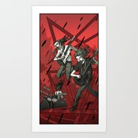 metal Art Prints featuring Metal by Rodrigo Avilés