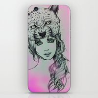 girly iPhone & iPod Skins featuring Girly by alexxela