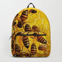 Honey Honeycomb Backpack
