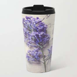 Love Letter With Lilac Travel Mug
