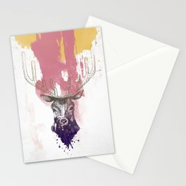 Deer a Stationery Cards