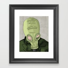 Dead Man's Shoes Framed Art Print