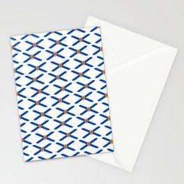 flag of nova scotia- nova scotian,bluenoser,halifax,cape breton,nueva escocia,nouvelle écosse. Stationery Cards