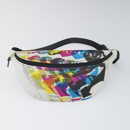 Advertisement lake placid 1980 xiii olympic Fanny Pack