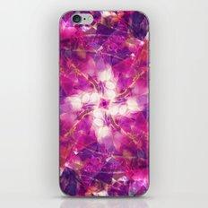 Pink Floral Mandala iPhone & iPod Skin