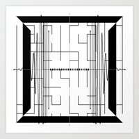 math Art Prints featuring Math by CrypticFragments Design
