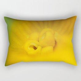 Zucchini Flower Rectangular Pillow