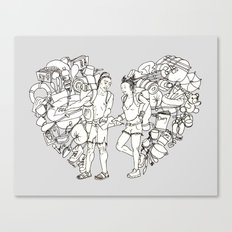 The backpackers Canvas Print