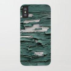 Green Paint III iPhone X Slim Case