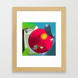 Star Scooper Framed Art Print