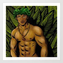 Kane Ekahi Art Print