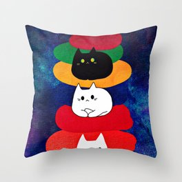 cats 603 Throw Pillow