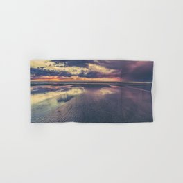 Stormy Beach Sunset Hand & Bath Towel