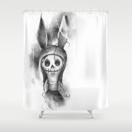 The Haunting of Louise Shower Curtain
